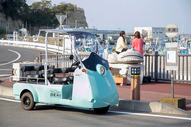 光岡自動車 電気自動車 MITSUOKA EV Like-T3のご紹介 DEAI